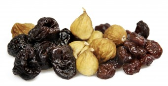 fig and cherry preserve - baby figs, cherries and pitted dried plums