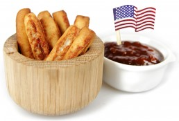 boston baguettes - bbq relish and tomato breadsticks
