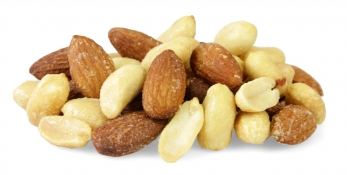 salt and vinegar nut selection - salt and vinegar almonds and salt and vinegar peanuts
