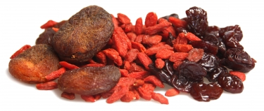 love mix - apricots, goji berries and cherries
