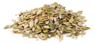 omega booster seeds - sunflower seeds, pumpkin seeds and golden linseeds