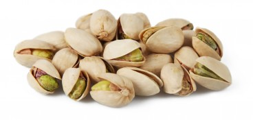 lightly toasted pistachios