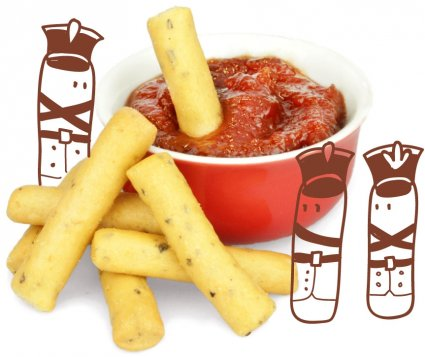 image of ketchup soldiers