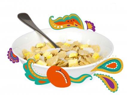 image of mango lassi