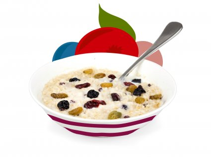 image of forest berry porridge