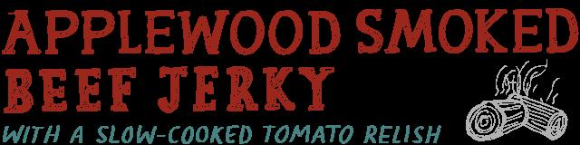 applewood smoked beef jerky