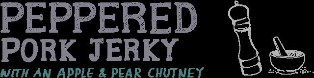 peppered pork jerky