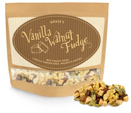 image of vanilla walnut fudge