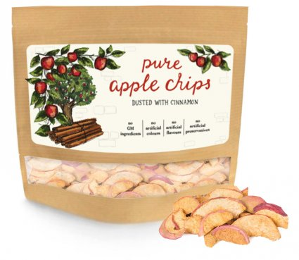 image of pure apple chips