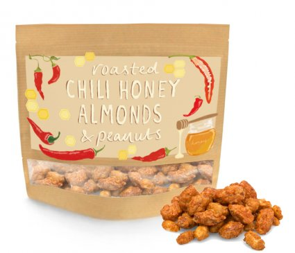 image of chili honey almonds and peanuts