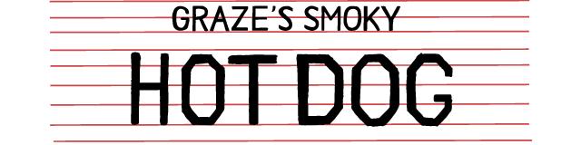smoky hotdog