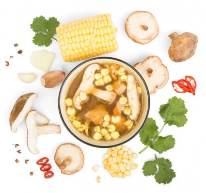 image of Chinese shiitake broth