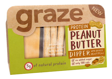 image of protein peanut butter dippers