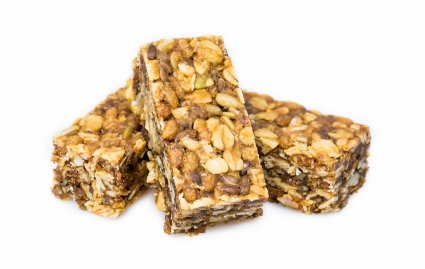 image of probiotic flapjack with maca flapjack