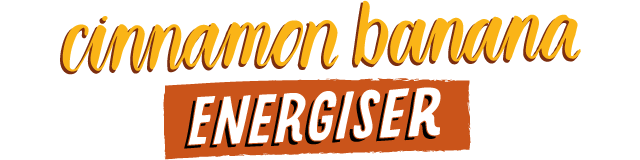 cinnamon banana energiser