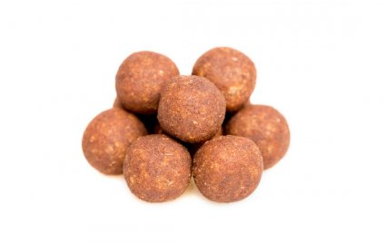 image of cinnamon and cashew mini protein ball