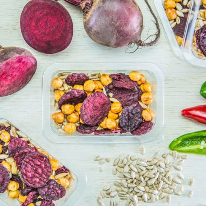 image of sweet and spicy beet crunch