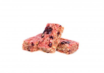 image of raspberry chia superfood flapjack