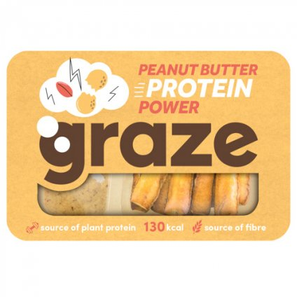 image of peanut butter protein power