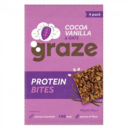 image of protein bites cocoa vanilla