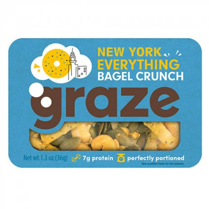 image of New York everything bagel crunch