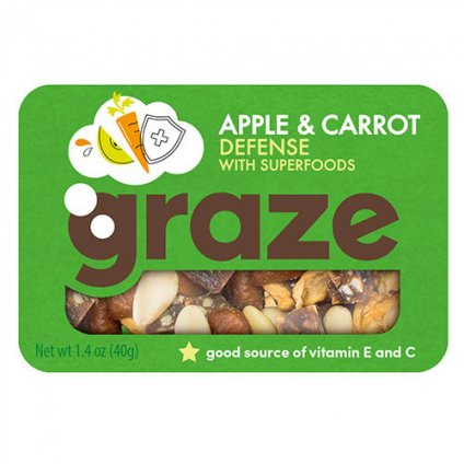 image of apple & carrot defense with superfoods