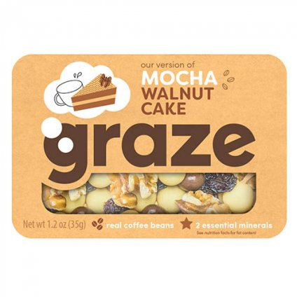 image of mocha walnut cake