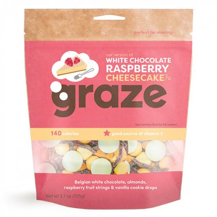 image of white chocolate raspberry cheesecake