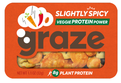 image of slightly spicy veggie protein power