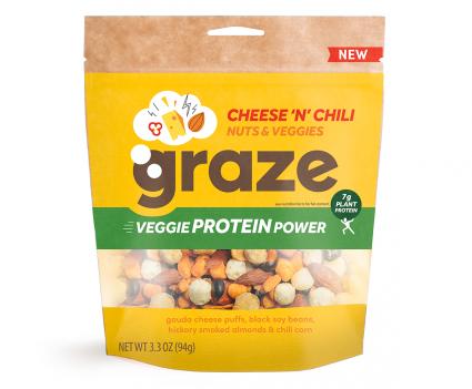 image of cheese n chili veggie protein