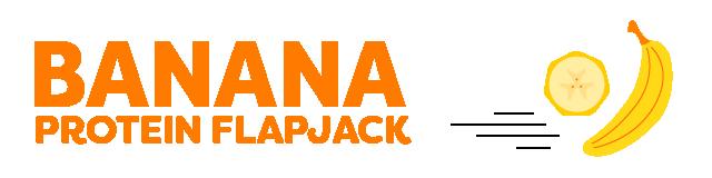 banana protein flapjack