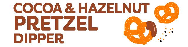 cocoa & hazelnut pretzel dipper multipack