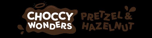 choccy wonders - pretzel & hazelnut