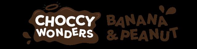 choccy wonders - banana & peanut