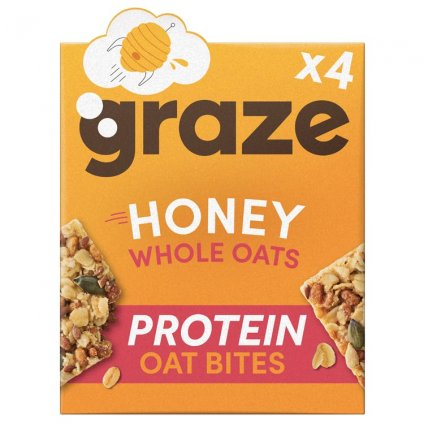 image of honey & oat protein bites