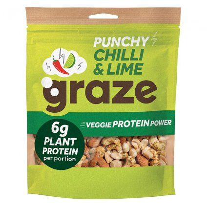 image of punchy protein power - sharing bag
