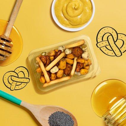 honey mustard pretzel