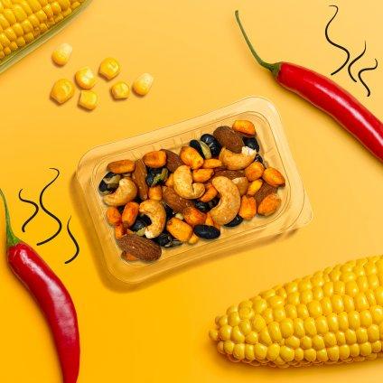 image of nacho style veggie protein power
