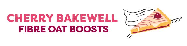 cherry bakewell fibre oat boosts