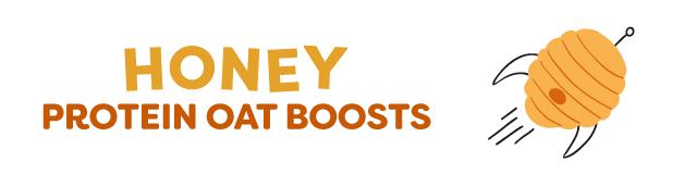 honey protein oat boosts